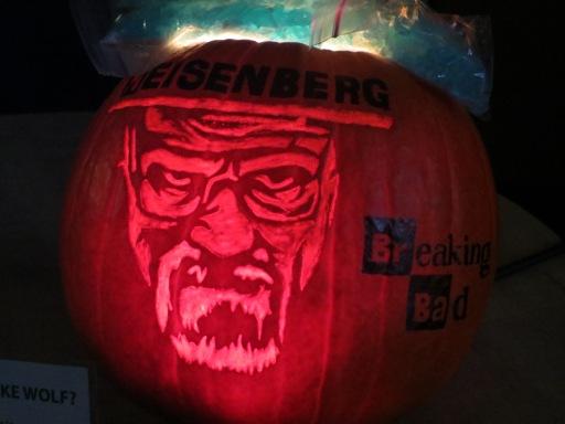 The winning pumpkin - Breaking Bad